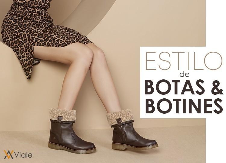 ESTILO DE BOTAS & BOTINES