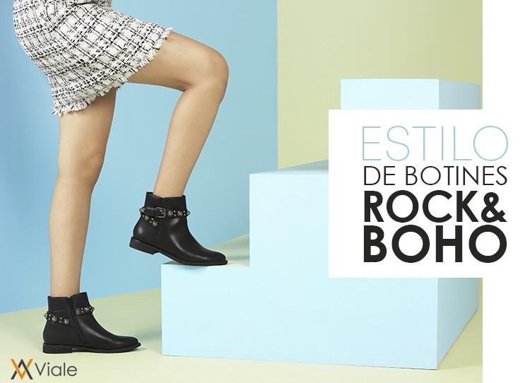 ESTILO BOTINES ROCK & BOHO